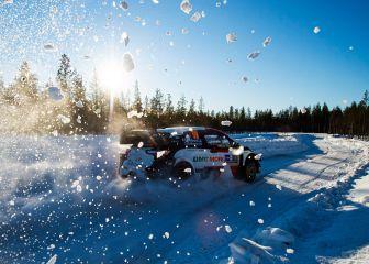 La nieve de Finlandia se estrena en el Mundial de Rallys