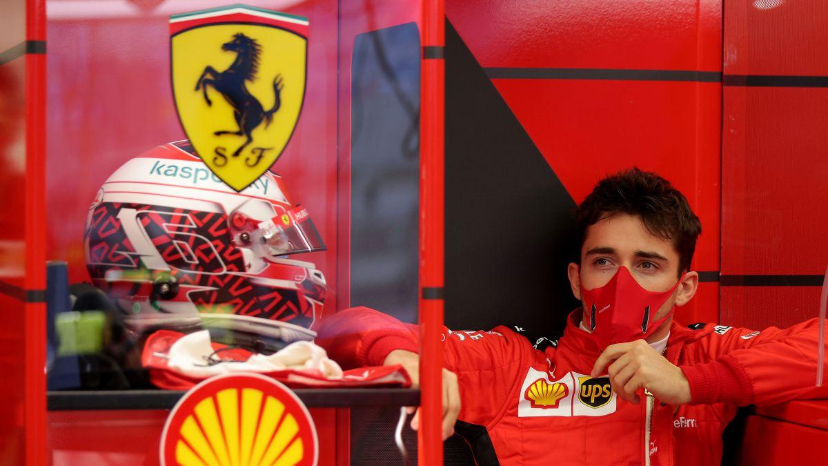 Ferrari's-spectacular-gift-to-Leclerc