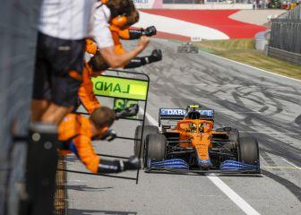 Norris hace historia en McLaren