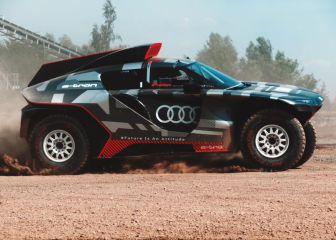 Audi enseña el híbrido de Sainz
