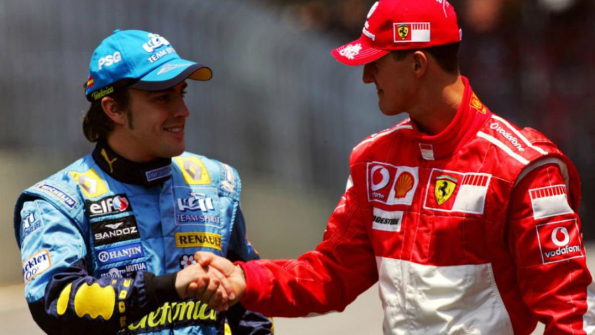 """""""Alonso-reminds-me-of-Schumacher"""""""