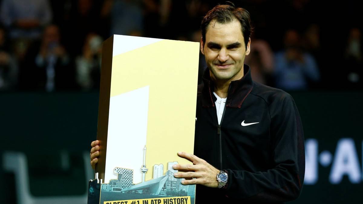 Federer vuelve a la cima del tenis