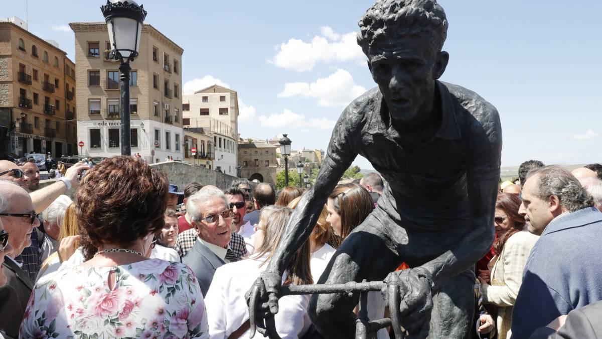 #Bahamontes ya es eterno en una cuesta de Toledo