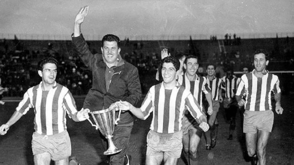 El primer título europeo del Atlético