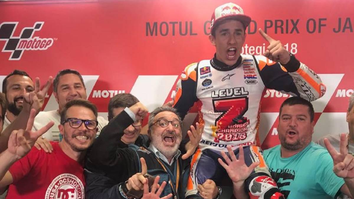 Sólo faltó que hablara la Honda de Marc Márquez