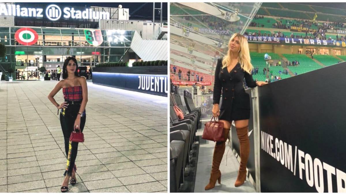 Georgina Rodríguez vs Wanda Nara. ¿Cual es la preferida por los italianos?