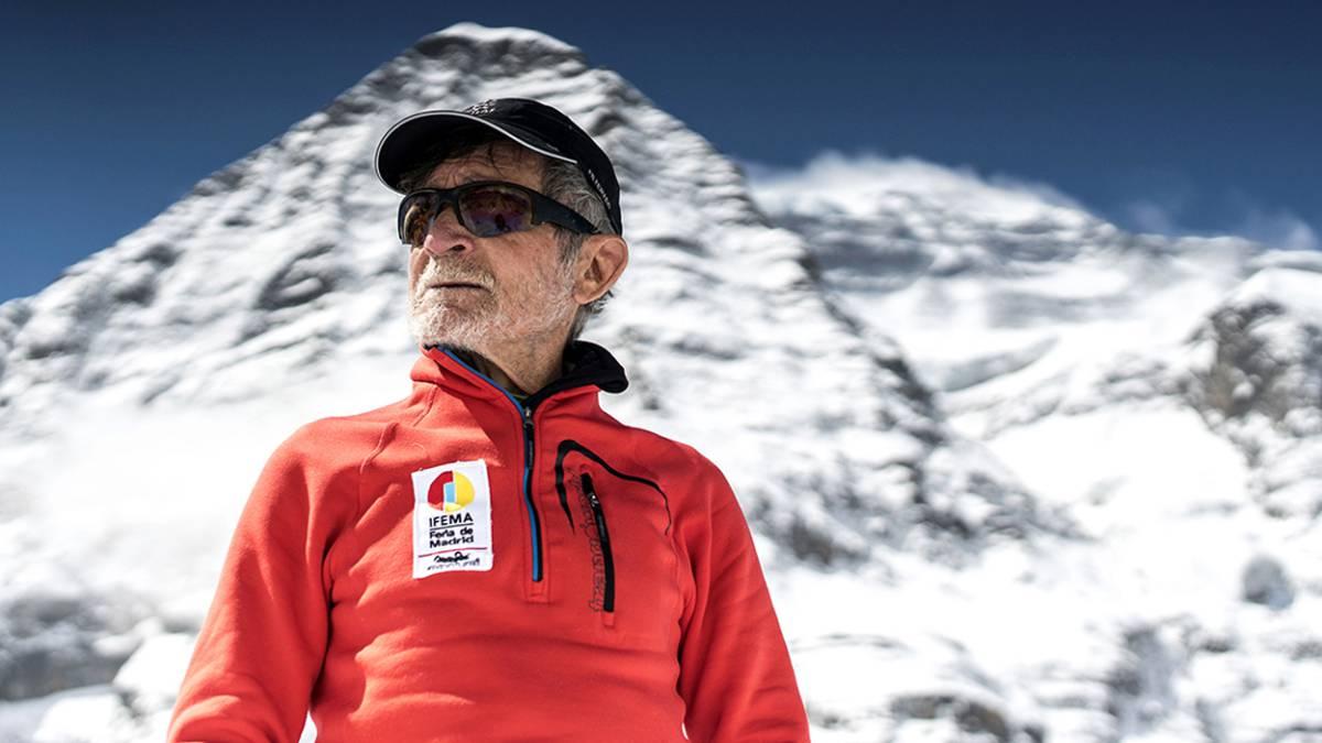 Carlos Soria, un jubilado hacia la cumbre del Dhaulagiri