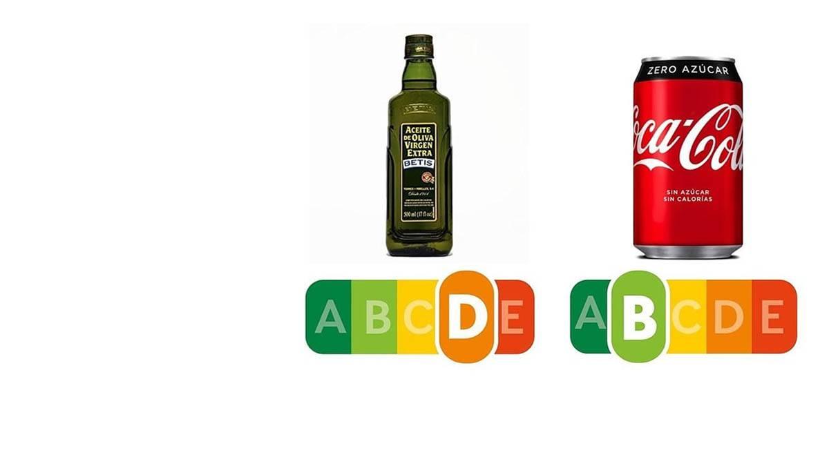 ¿Aceite de oliva peor que la Coca Cola Zero?