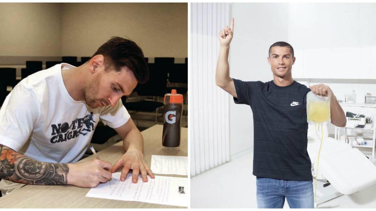 Los futbolistas más solidarios