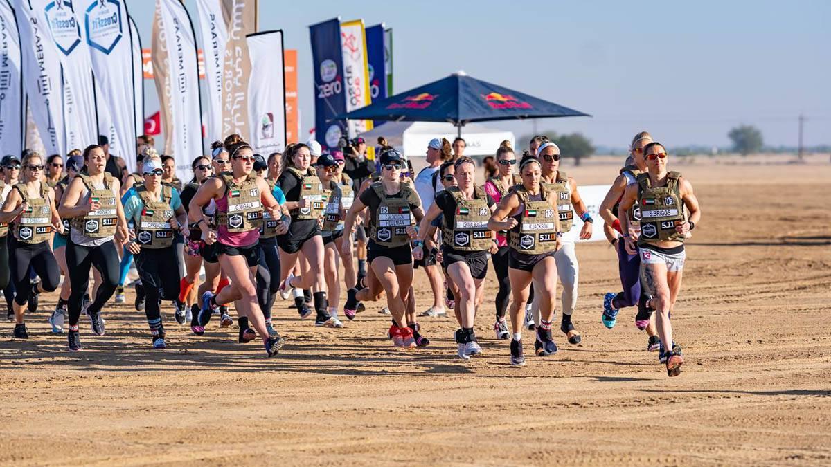 8 Km de carrera por el desierto DCC 2018