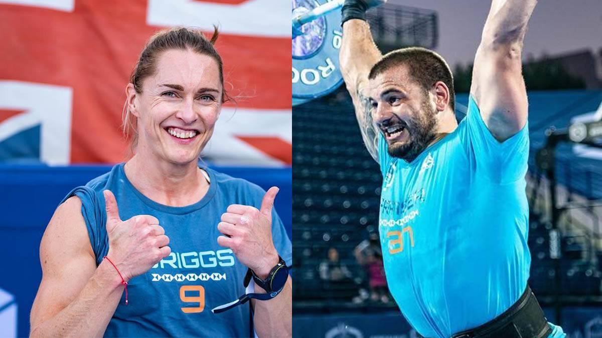 Mathew Fraser y Samantha Briggs ganadores de la Dubai CrossFit Championship 2018