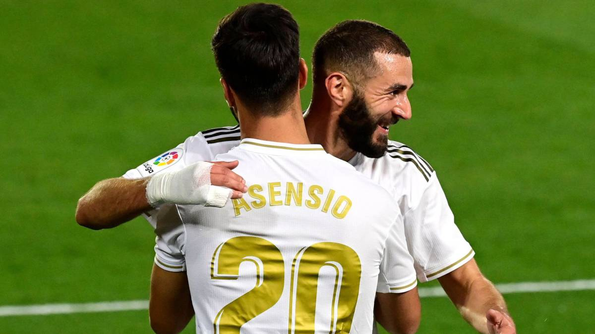 El Madrid exhibe muy buena salud