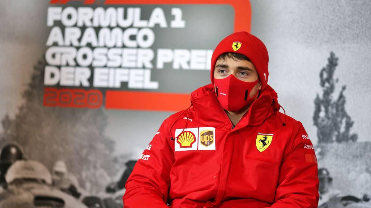 Leclerc anima a Sainz? y a todos