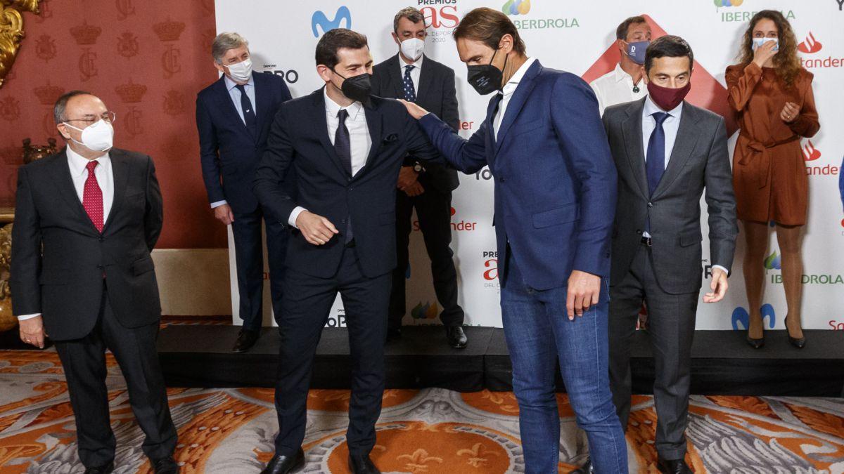 Premios AS   Nadal, Casillas, Gasol... y la solidaridad 1