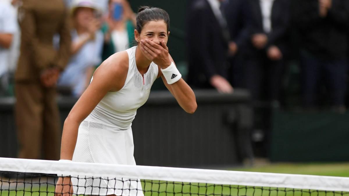 """Muguruza: """"Serena me dijo que algún día ganaría y aquí estoy"""""""