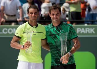 Nadal ante Federer, duelo por la corona de Shanghái