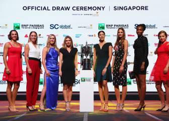 Las mejores tenistas del año deslumbran en Singapur