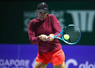 Muguruza-Ostapenko: horario, fecha y canal del WTA Finals