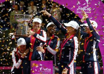 Vandeweghe y Rogers le dan la 18ª Copa Federación a EE UU