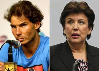 Condena para Bachelot por acusar a Rafa Nadal de dopaje