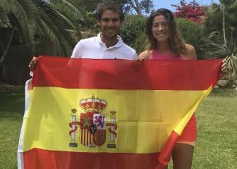 Nadal y Muguruza, elegidos tenistas del año 2017 por la ITF
