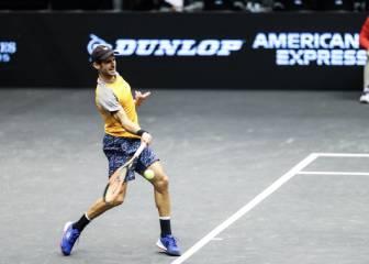 Adrián Menéndez alcanza los cuartos de final en Nueva York