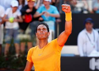 La victoria de Nadal sobre Djokovic en imágenes