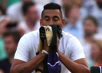 """Kyrgios sobre su eliminación en Wimbledon: """"Me entró pánico"""""""
