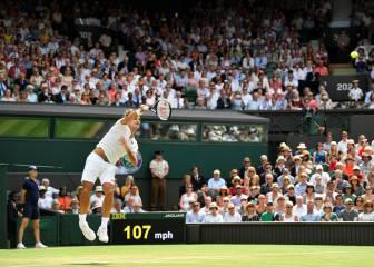Federer, a cuartos y suma 81 saques sin perder en Wimbledon