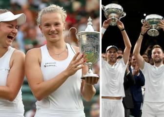 Siniakova/Krejcikova y Mike Bryan/Sock ganan los dobles