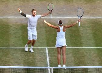 Peya y Melichar ganan a Murray y Azarenka en el dobles mixtos