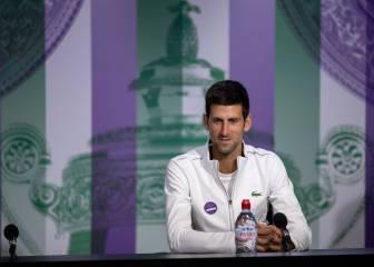 """Djokovic: """"Estuve cerca de la derrota; Nadal es el mejor tenista del mundo"""""""