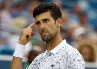 Novak Djokovic vence a Raonic y Goffin se impone a Del Potro