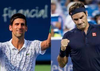 Djokovic-Federer: TV, horario y cómo ver la final de Cincinnati