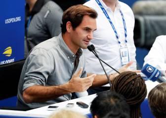 Federer reconoce que no llega a NY en el mejor momento