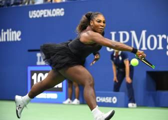Serena jugó con tutú en medio de la polémica por su vestuario