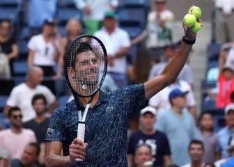 Djokovic se deshace de Sousa y sube a 11-0 su racha en octavos