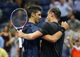Djokovic frena sin problemas a Millman, el verdugo de Federer