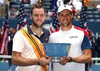 Mike Bryan y Sock completan el doblete US Open - Wimbledon