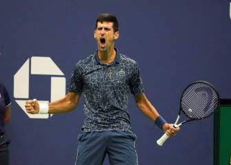 Djokovic domina y coge a Sampras: 14º Grand Slam