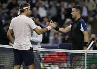 """Bautista cree que el arbitraje favoreció a Roger Federer: """"No es la primera vez"""""""