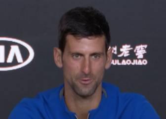 """A Djokovic no le hizo ninguna gracia que le mencionasen a Nadal: """"Es mi rueda de prensa"""""""