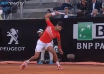 Lo de Nadal fue tal apisonadora que Djokovic perdió los papeles así