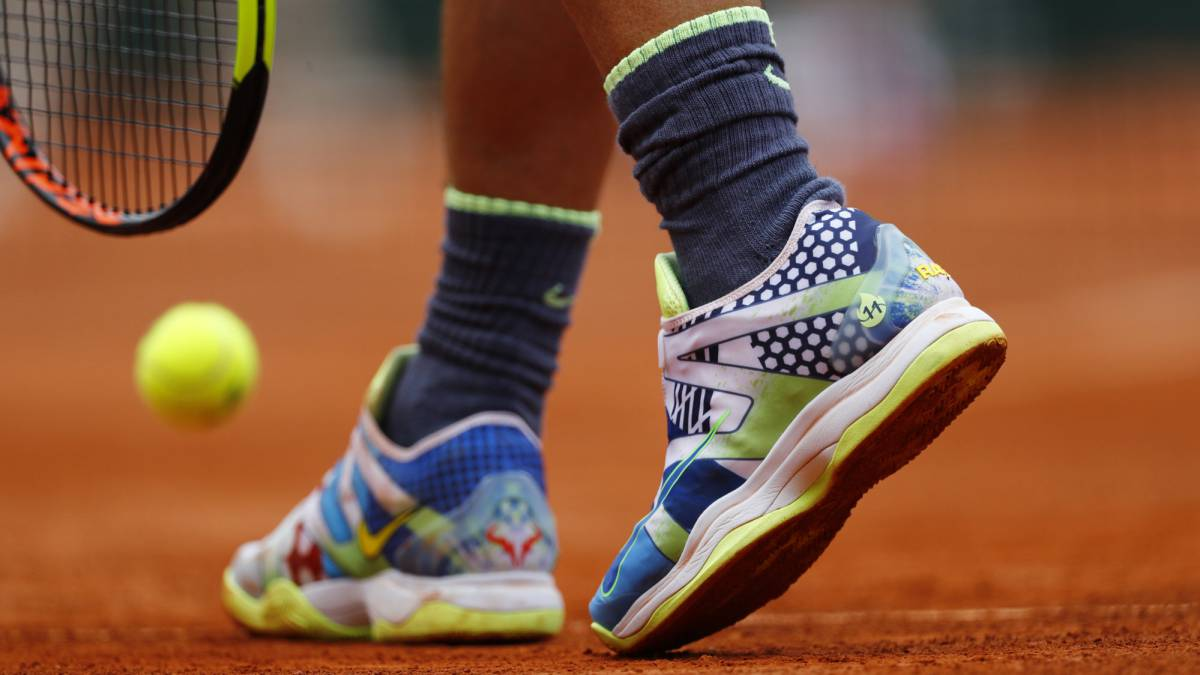 Nadal Wore Shoes With His 11 Titles At Roland Garros