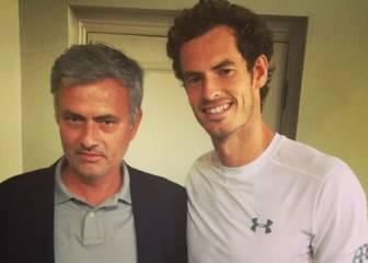 """Andy Murray: """"Mourinho habría hecho un gran trabajo en el Arsenal"""""""