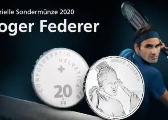 Suiza acuñará monedas de oro y plata con la cara de Federer