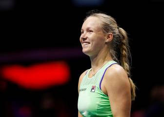 Bertens revalida título en San Petersburgo y se cae de Dubái 1