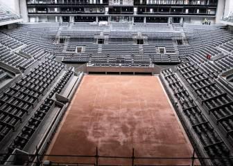 Los torneos de tenis suspendidos por el coronavirus