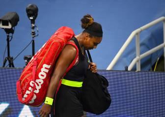 """Serena Williams, tras caer ante Sakkari en Cincinnati: """"Es como salir con un chico que apesta"""""""