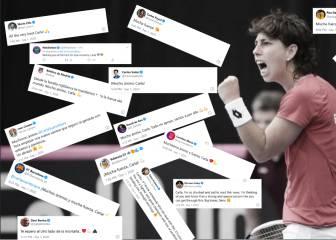 Impresionante apoyo del deporte y la sociedad a Carla: más de 6 mil mensajes